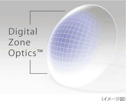 Digital Zone Optics™ lens design